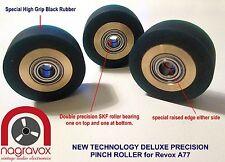 Revox A77 DELUXE roller bearing PINCH ROLLER kit