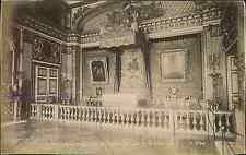J. Kuhn, France, Palais de Versailles. La chambre et le lit de Louis XIV  Vintag