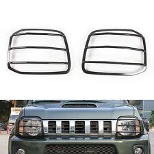 For Suzuki Jimny 07-2015 Metal Front Headlight Lamp Guard Protector Cover Trim