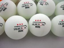 100pcs 3-Star 40mm Olympic Table Tennis Balls Pingpong Balls white free shipping