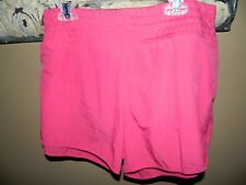 Women's Asics Cleo Pop Pink Shorts Sz L NWT