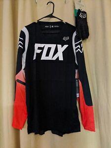 2 Piece Lot Of Fox Racing Gear-Legion 2XL Gloves & 360 Bann XL Jersey Mens