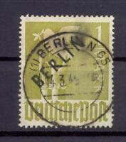 Berlin 17 Schwarzaufdruck 1 Mark gestempelt geprüft Schlegel (vs328)