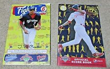 J.P. Crawford- JP- Reading Phillies Fightins 2015 and 2016 Game Programs