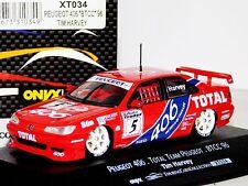 PEUGEOT 406 TOTAL TEAM PEUGEOT #5 TIM HARVEY BTCC 1996 ONYX XT034 1/43
