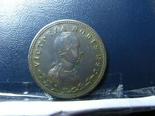LC-49A2 Halfpenny token Victoria Nobis Est Bas Lower Canada Breton 982