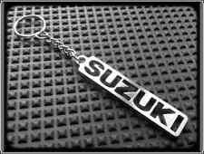 Keyring for SUZUKI GSXR TLR TLS SV BANDIT HAYABUSA - Stanless Steel, Hand Made