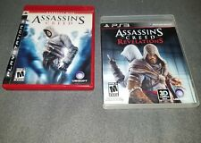 Assassin's Creed and Assassin's Creed Revelations (Sony PlayStation 3) Gr8 Cond!