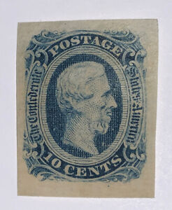 Travelstamps: US Stamps CONFEDERATE CSA SCOTT #12 MINT NH 10 cents