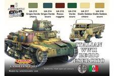 LifeColor CS08 Italian WWII Regio Esercito 6x 22ml Acrylic Colours