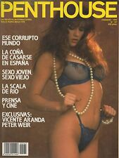 REVISTA PENTHOUSE MAGAZINE Nº 167 · FEBRUARY 1992 · SPANISH EDITION