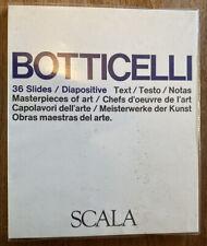 35mm Slides & Booklet, Sandro Botticelli Italian Artist Art Painter Renaissance