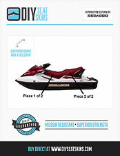 GTS GTX SEA DOO BURGUNDY Seat Skin Cover 02 03 04 05 06