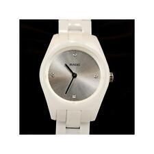 Rado Specchio Diamond Ceramic Silver Dial Ladies Watch R31509702 New  $2150