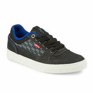 Levi's Mens Mason Lo Monogram Rubber Sole Casual Canvas Sneaker Shoe