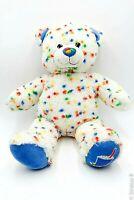 "BABW Build a Bear - 16"" Confetti Milkshake Teddy Bear Plush Stuffed Animal Toy"