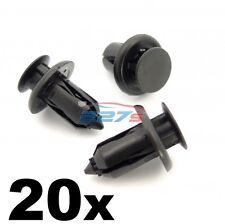 20x Plastica Clip PARAURTI PER AUTO MAZDA-Anteriore, Posteriore Paraurti Trim & griglia Rivet