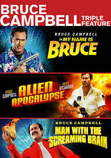 BRUCE CAMPBELL - Bruce Campbell Triple Feature DVD [I68]