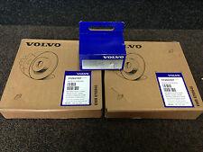 GENUINE VOLVO V70 S60 S80 FRONT BRAKE DISCS & PADS - 305MM BRAKES