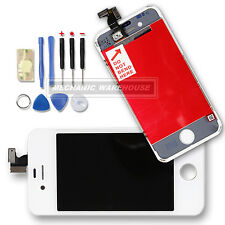 For iPhone 4 Replacement White LCD Screen Digitizer Display Touch Screen Lens UK