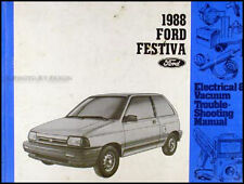 1988 Ford Festiva Factory Electrical Troubleshooting Manual 88 Original OEM