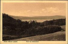 Abtei Maria Laach Eifel bei Mendig Postkarte 1917 datiert Blick von Südwesten