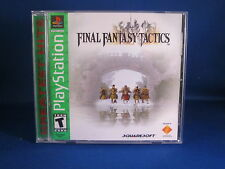 Sony Playstation PS1 Final Fantasy Tactics Complete Greatest Hits Video Game