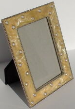 Wedding Collection Epoxy Pearl Picture Frame with Pearls - WPA0082