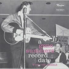 """GENE SUMMERS & THE REBELS Record Date 7"""" tom toms bill smith combo nervous gotta"""