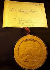 Queen Victoria Great Patent on a Very Large Vellum & Super Large Wax Seal - 1874