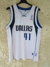 Maillot DALLAS MAVERIKCS Dirk NOWITZKI n°41 vintage shirt NBA Champion USA L