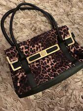 Fiorelli - Black Brown Gold Leopard Print Ladies Hand Bag - BNWOT