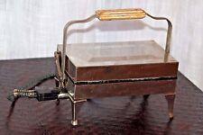 Excellent vintage Westinghouse E&M electric waffle iron, original cord