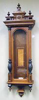Solid Oak 3 Finial Full Column Case for German Vienna Regulator 3 Weight Clock