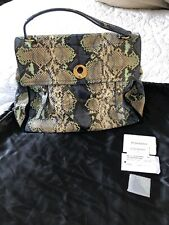 Yves Saint Laurent Python Muse Two Tot Bag