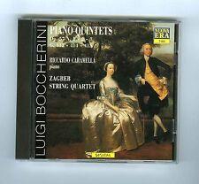 CD LUIGI BOCCHERINI R.CARAMELLA ZAGREB STRING QUARTET PIANO QUINTETS