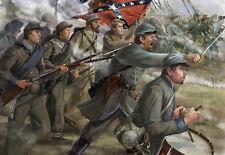 """""""Pickett's Charge"""", Set 1, Gettisburg, Konföderierten Infanterie, 1:72, Strelets"""