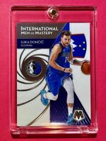 Luka Doncic MOSAIC INTERNATIONAL MEN OF MASTERY HOT MAVS INSERT CARD - Mint!