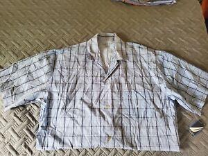 Nautica Sleepwear Shirt. Blue. Yellow. Retail $31.00