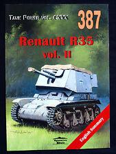MILITARIA 387, RENAULT R35 VOL.II  BY JANUSZ LEDWOCH