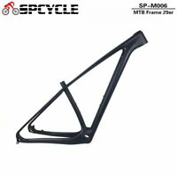29er Full Carbon MTB Mountain Bike Frames OEM Carbon MTB Bicycle Frame 142*12mm