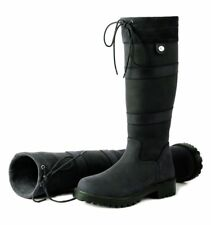f8e76c3515a black yard boots   eBay