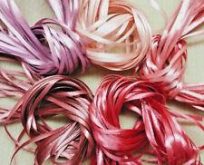 Craft Ribbon - 50m NARROW RIBBON - Beautiful Roses