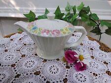 More details for art deco sadler 2 teapot floral detail