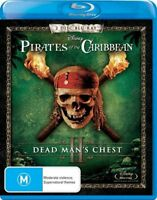 Pirates Of The Caribbean - Dead Man's Chest ( Blu-ray,  2-Disc Set )