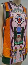 MARY KATRANTZOU FOR ADIDAS Multi Colour Tennis Print Tank Dress 42 UK10 BNWT