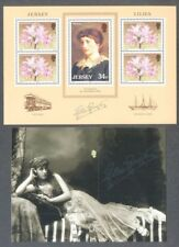 Jersey-Lillie Langtry mnh-Actress-2 min sheets -1986 & 2017