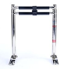 2 Step Boat Stainless Steel Boarding Telescoping Ladder Swim-US Free Ship-EFP