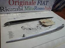Coppia Baffo anteriore Modanatura Fregio FIAT 600 D Original Couple frieze Front