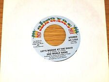 "DISCO 45 RPM -3RD WORLD BAND - ABRAXAS 1701 - ""LET'S BOOGIE AT THE DISCO"""